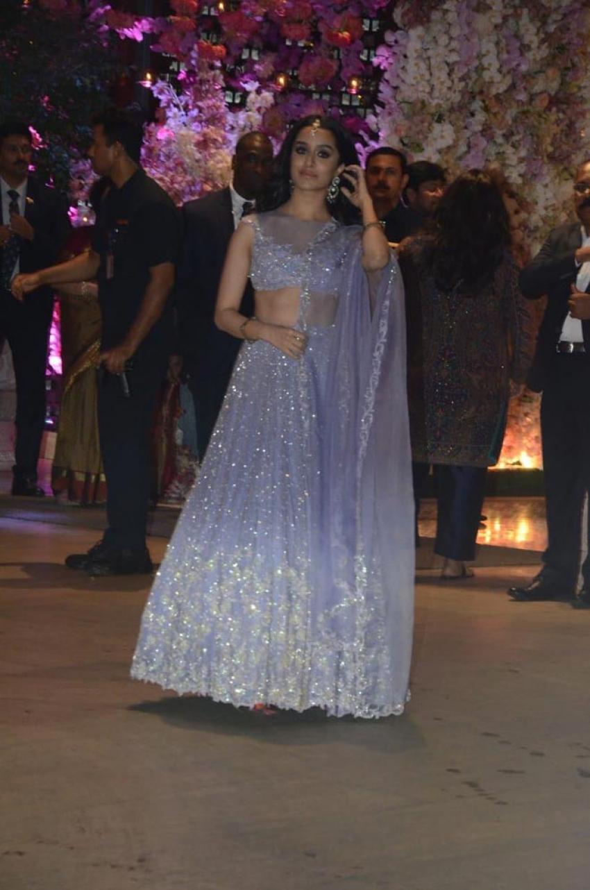 Celebs Attend Akash Ambani & Shloka Mehta Engagement Party Photos