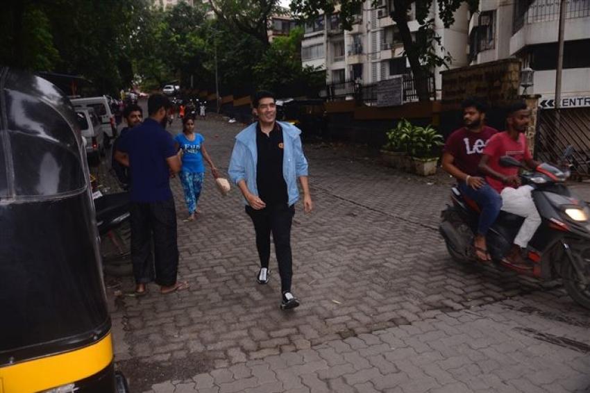 Celebs Spotted At Karan Johar House Photos