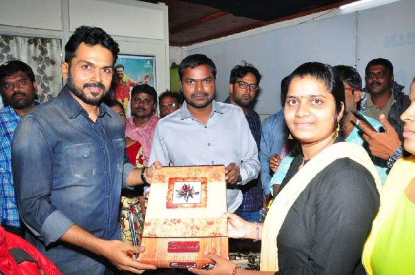 Chinna Babu Team Success Tour At Kakinada And Rajamundry Photos