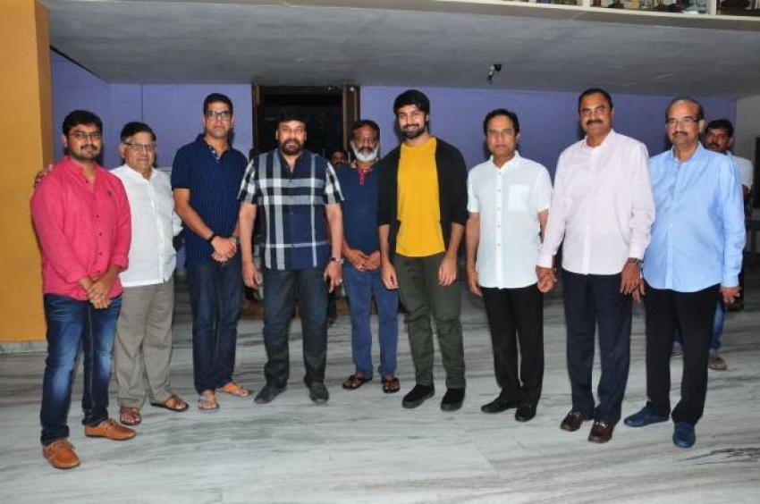 Chiranjeevi Watched Special Screening Of Vijetha Movie At Prasad Labs In Hyderabad Photos