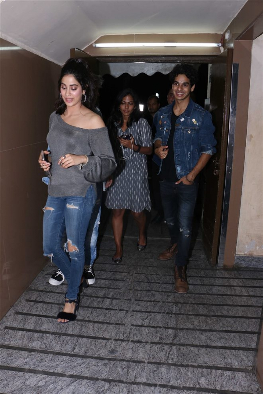 Dhadak Movie Special Screening At PVR Juhu Photos