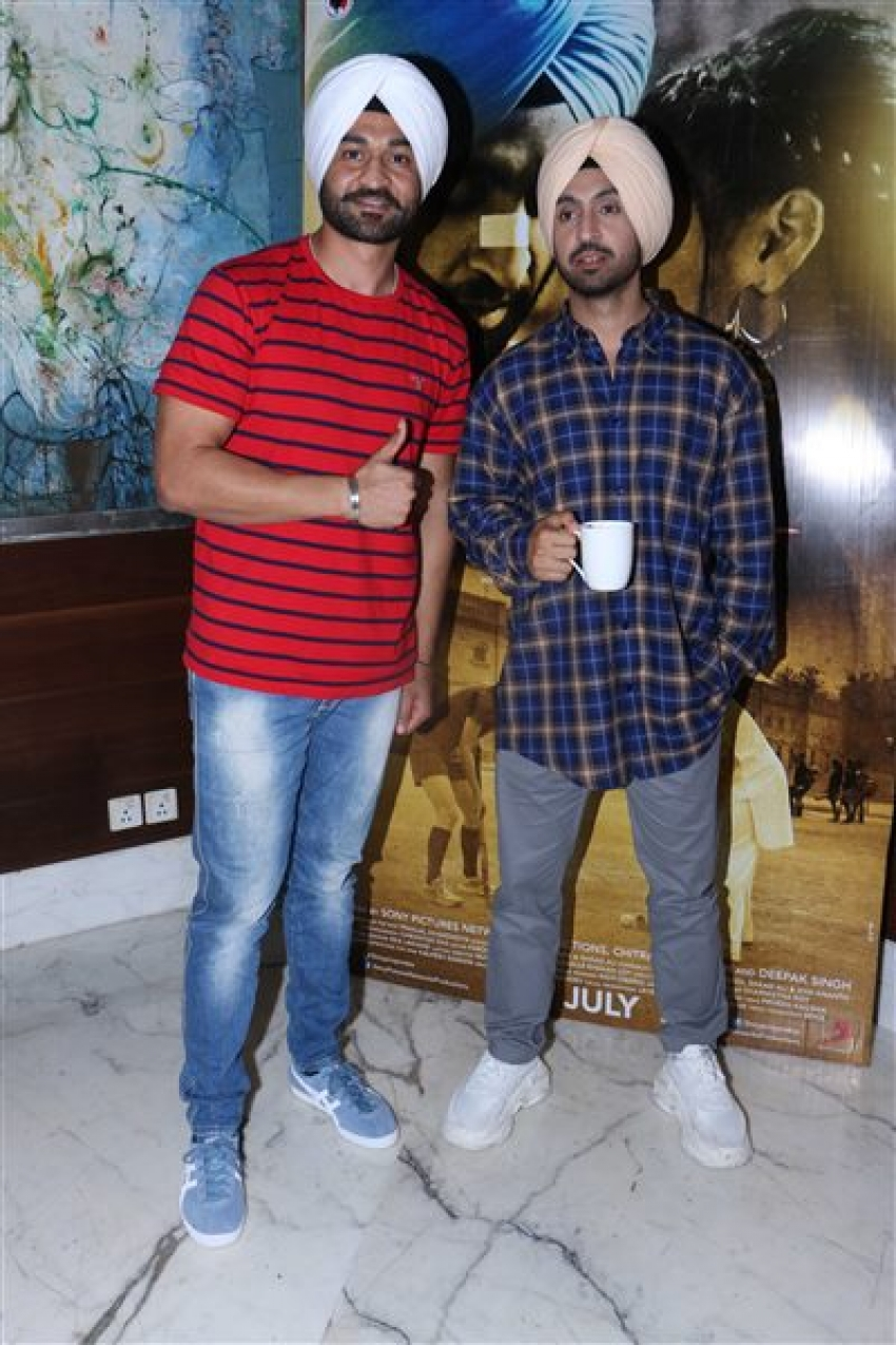 Diljit Dosanjh Promoting Upcoming Movie Soorma Photos
