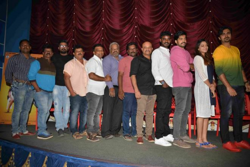 Double Engine Kannada Movie Press Meet Photos