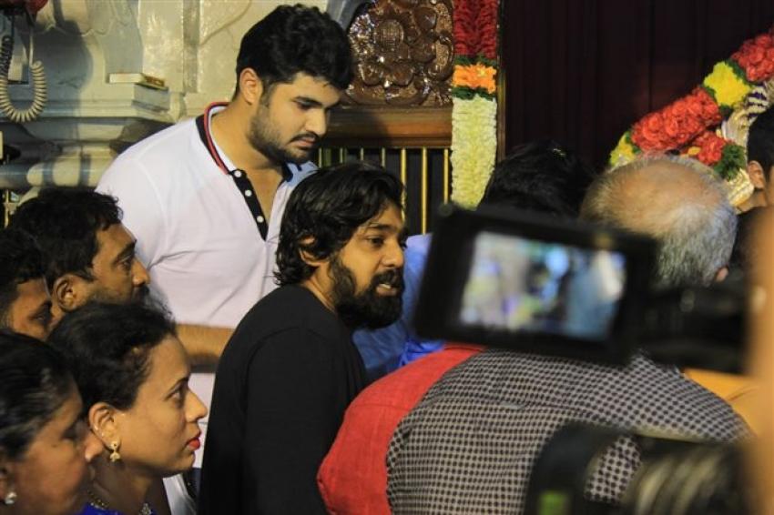 Druva Sarja At Ayogya Kannada Movie Audio Release