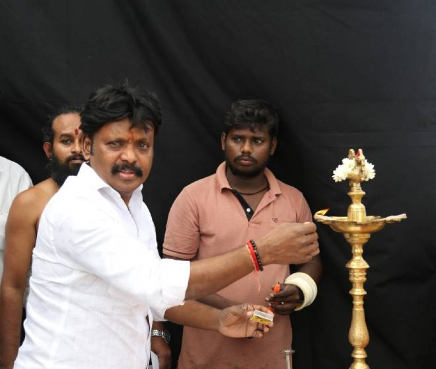 Essaki Bharath New Movie Pooja Photos