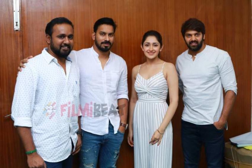 Ghajinikanth Movie Press Meet Photos