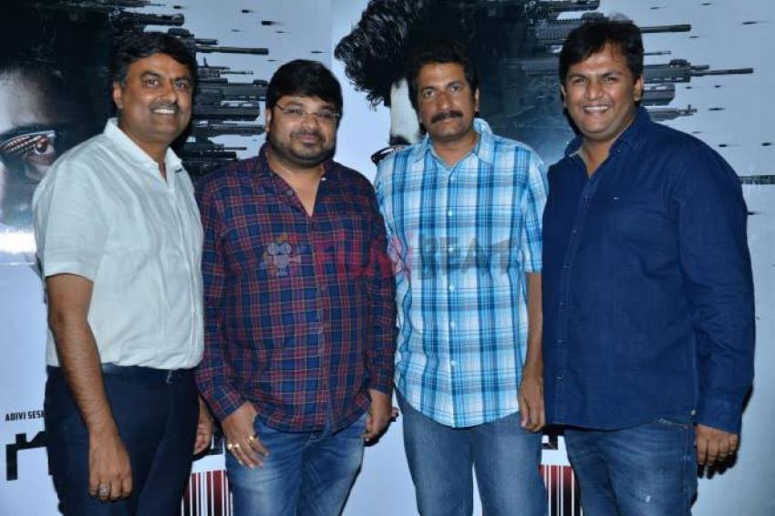 Gudachari Movie Teaser Launch Photos