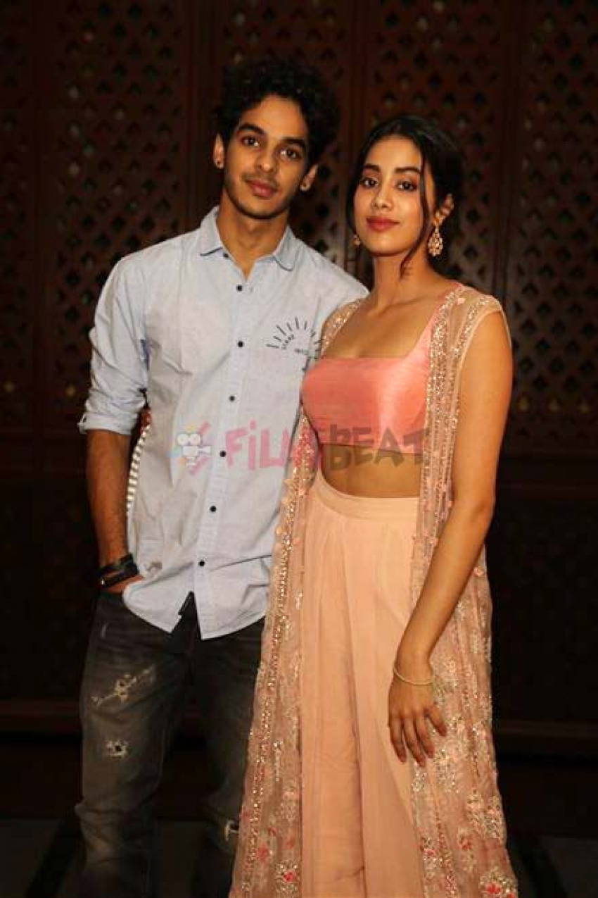 Janhvi Kapoor And Ishan Khattar During Photoshoot  In New Delhi Photos