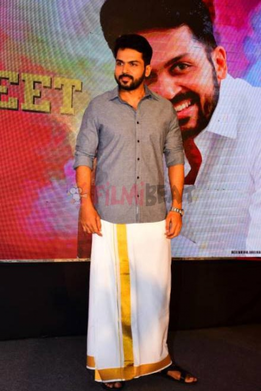Kadaikutty Singam Promotion At Kerala Photos