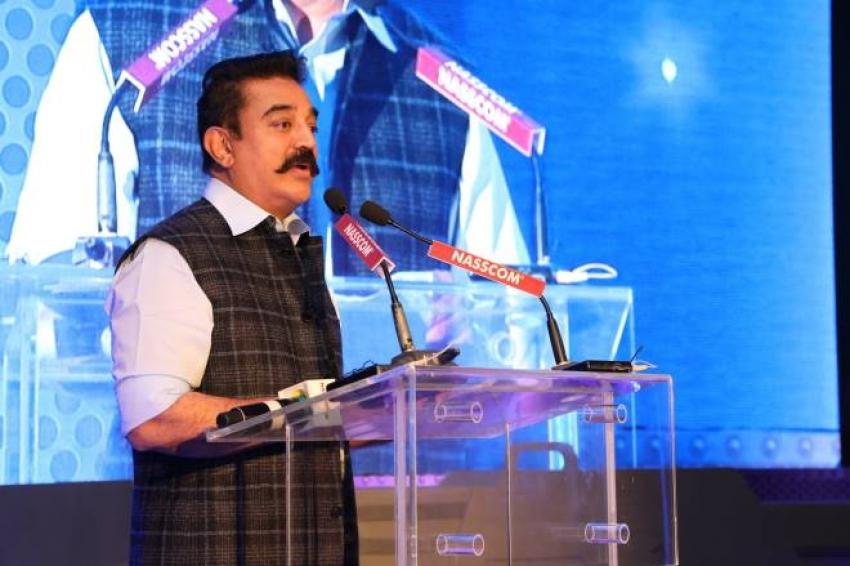 Kamal Haasan Speech At Nasscom Hr Summit 2018 Photos