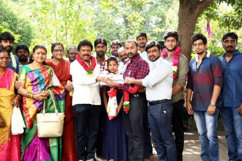 Kangu Movie Pooja Photos