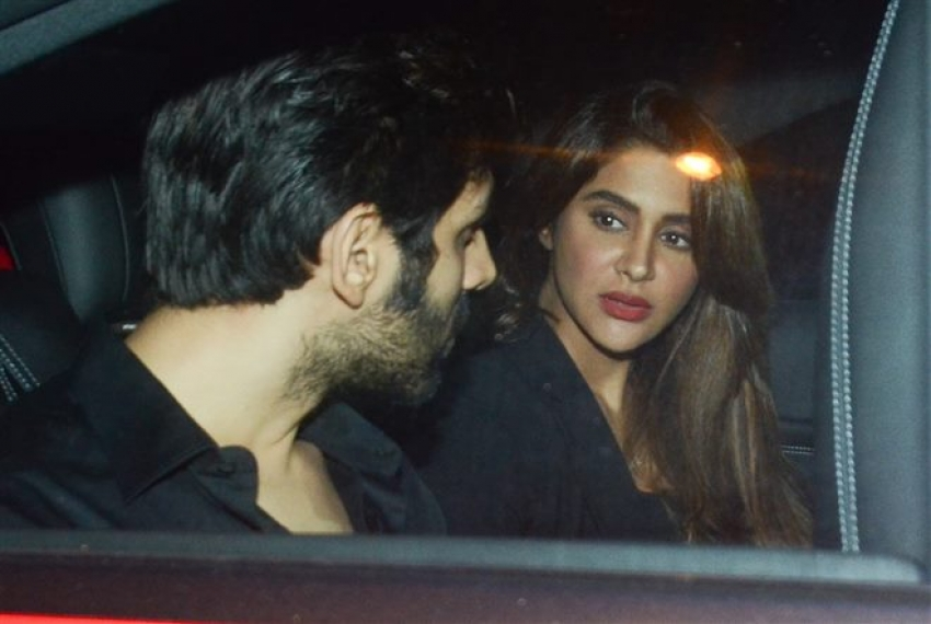 Kartik Aaryan With Girlfriend Spotted At Bastian Bandra Photos