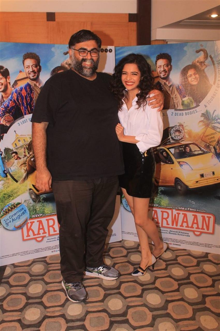 Karwaan Movie Promotion Photos