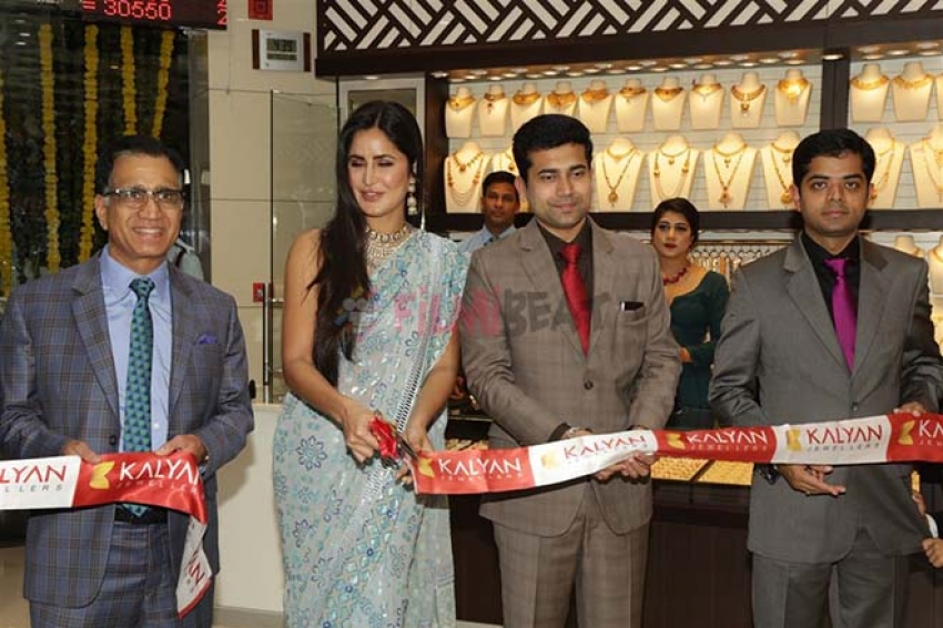 Katrina Kaif At Launch Of Kalyan Store In New Delhi Photos
