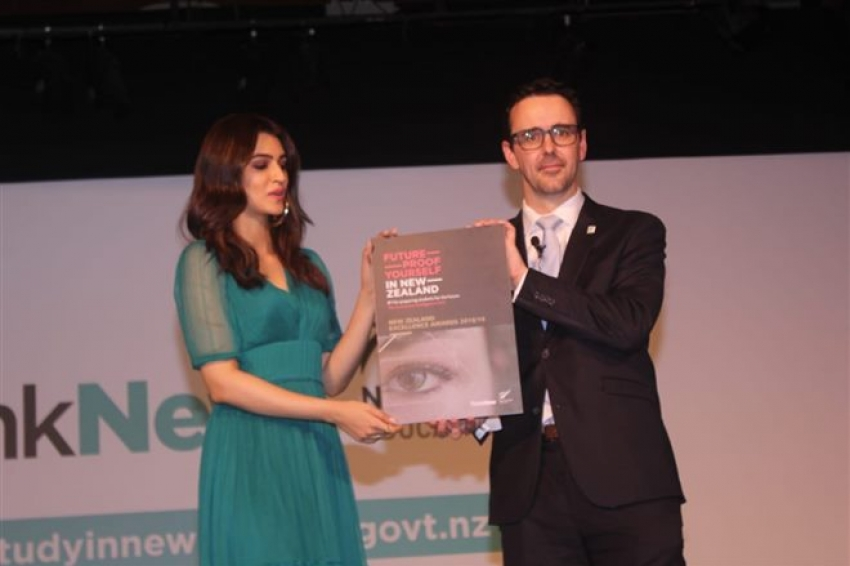 Kriti Sanon Brand Ambassador For Education New Zealand Photos