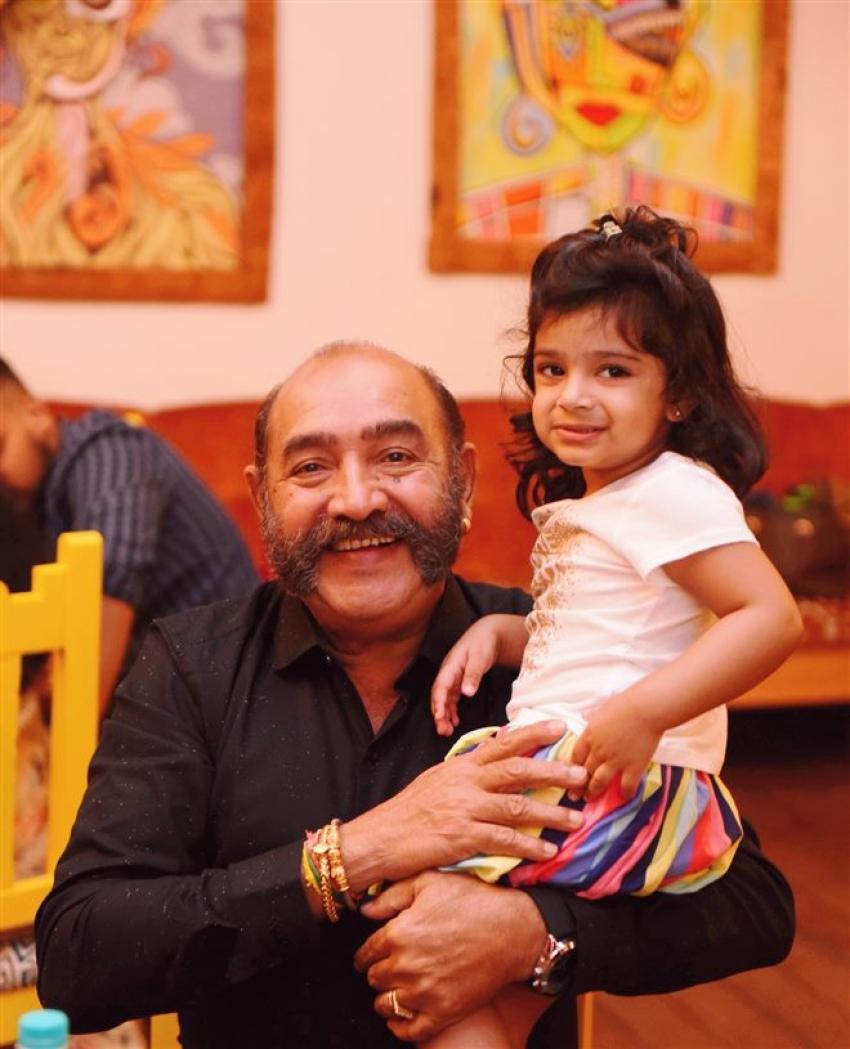 Mrs.Sridevi Vijaykumar &  Mr.Rahul's Daughter Baby Rupikaa 2nd Year Birthday Celebration Photos