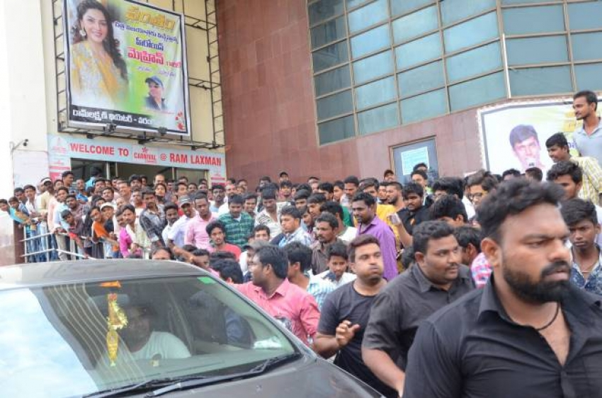Pantham Movie Team Warangal Hanmakonda Tour Photos