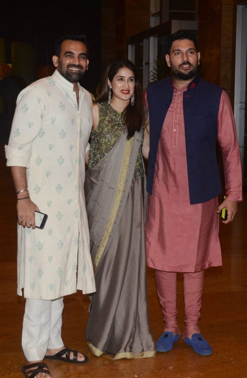 Poorna Patel's Sangeet Ceremony Photos
