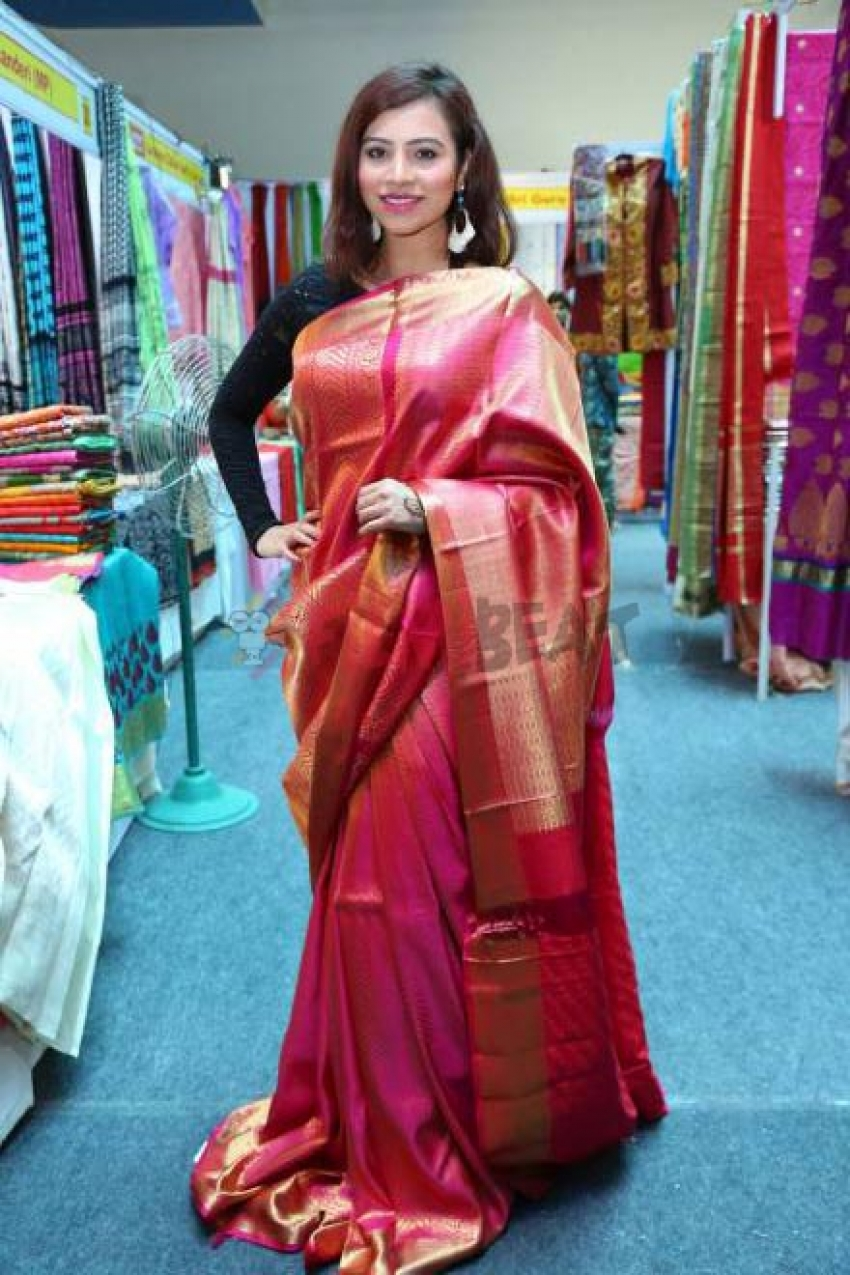 Priyanka Raman Inaugurates Silk Dezire Of India Expo At Ecil X Roads Photos