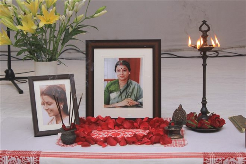 Ritu Bhaduri's Prayer Meeting Photos