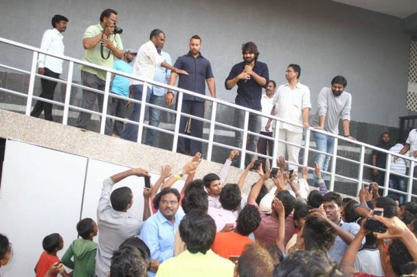 RX100 Movie Team Success Tour At Guntur Swamy Theater Photos