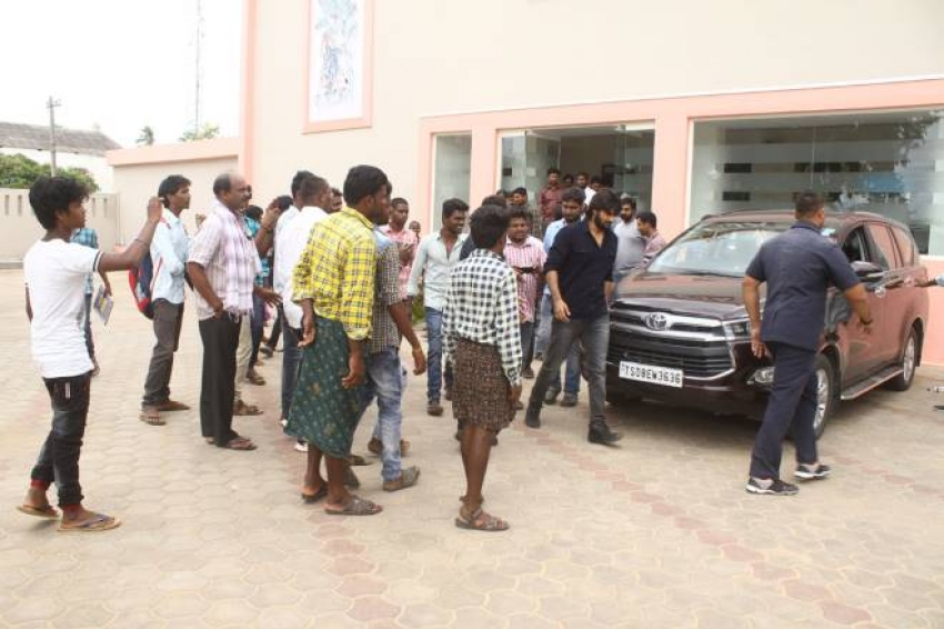 RX100 Movie Team Success Tour At Naidu Peta C.S.Teja Theatre Photos
