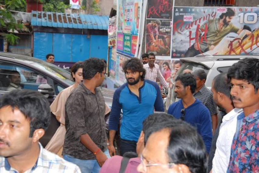 RX100 Movie Team Success Tour Photos