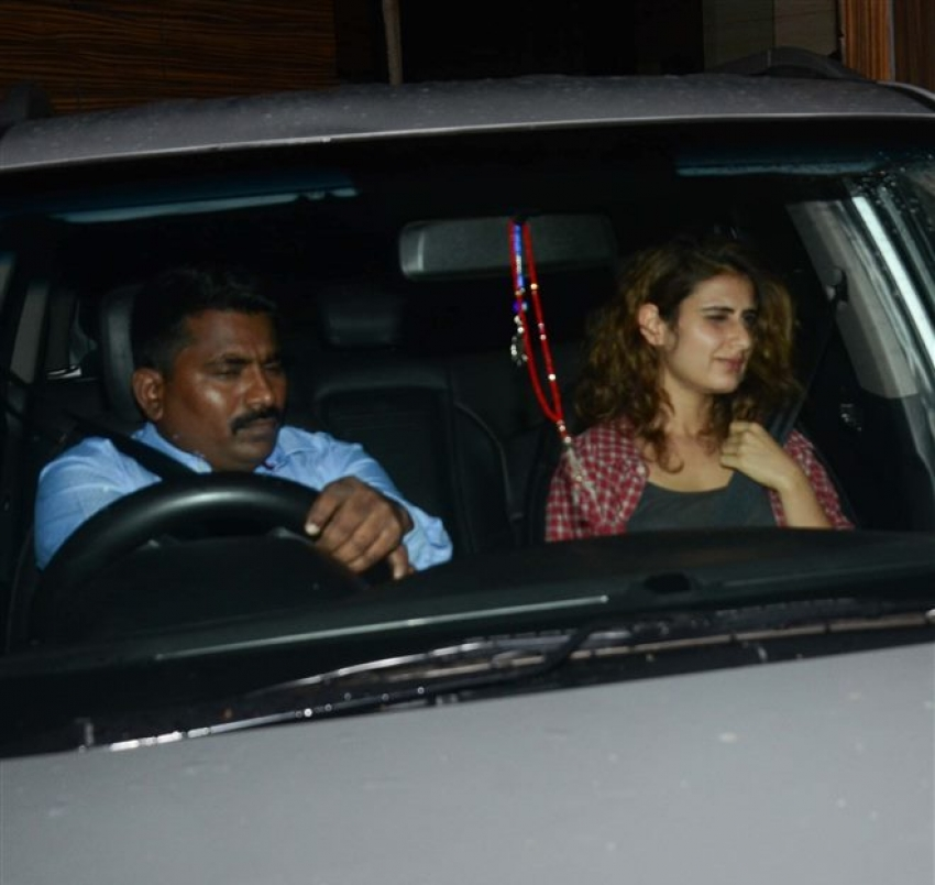 Sachin Tendulkar, Fatima Sheikh, Ashutosh Gowariker At Aamir Khan House Photos