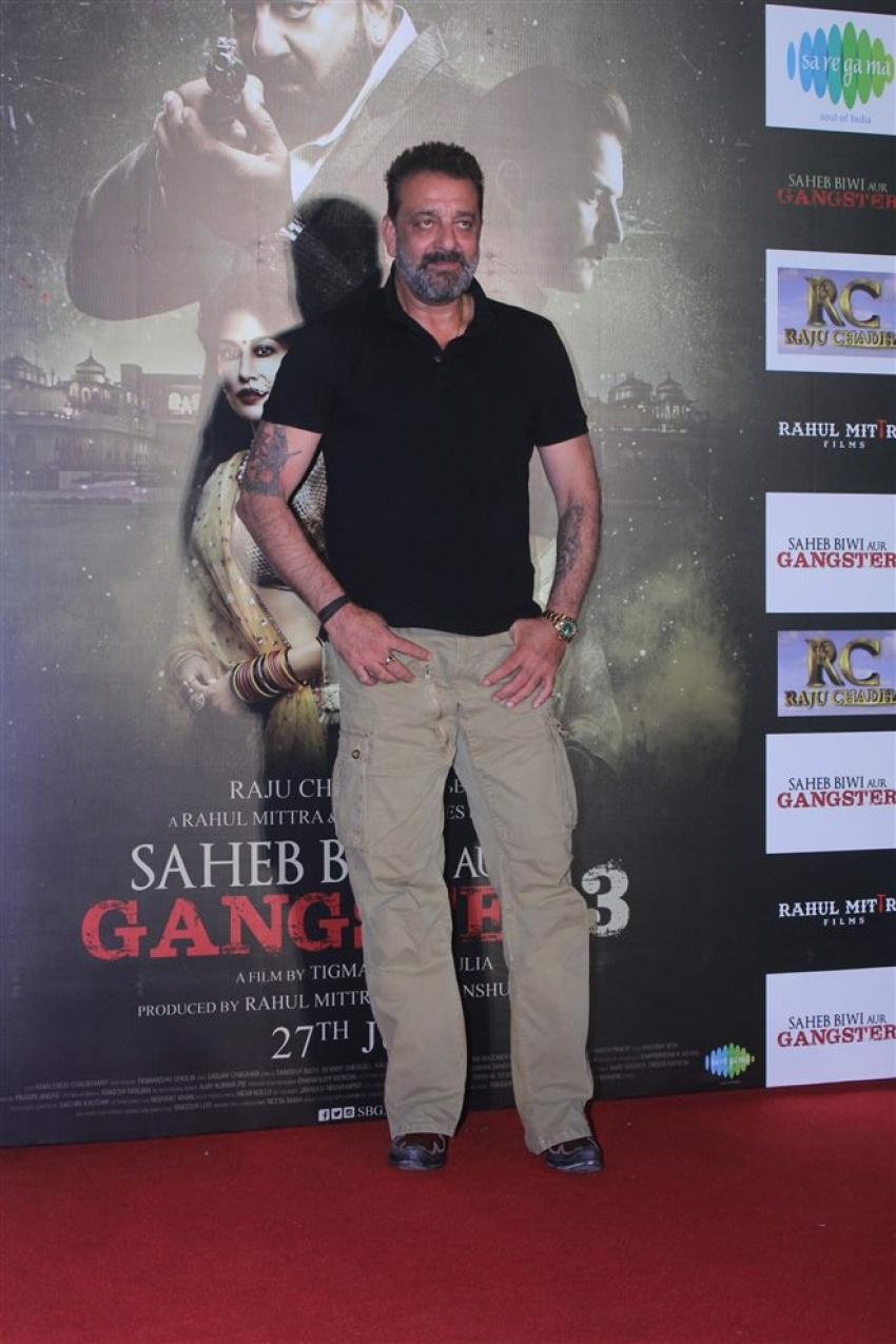 Saheb Biwi Aur Gangster 3 Trailer Launch Photos