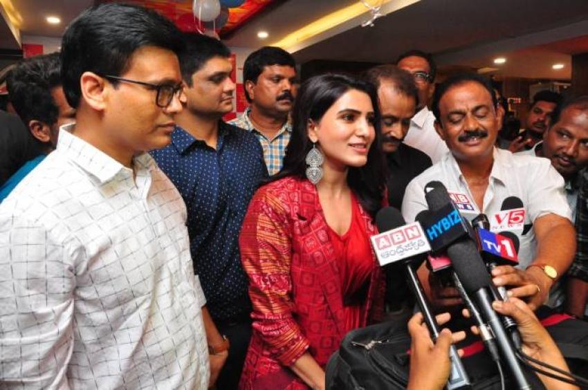 Samantha Akkineni Launches Cafe Bahar Restaurant At Panjagutta