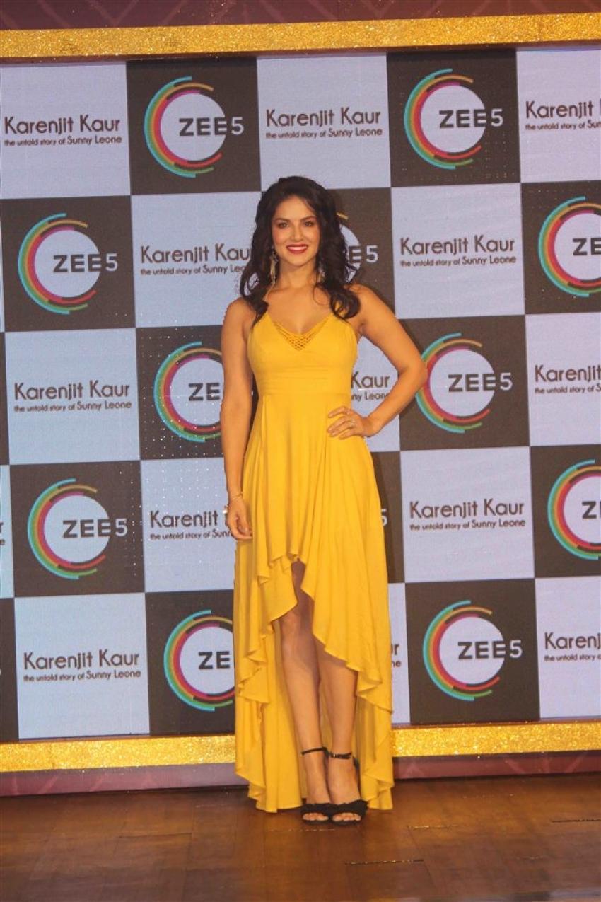 Sunny Leone Unveils Her True Story Karenjit Kaur Photos