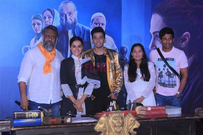 Taapsee Pannu-Rishi Kapoor starrer 'Mulk' trailer launch Photos