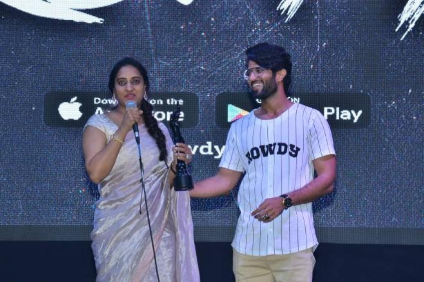 Vijay Deverakonda's Rowdy Club Launch Photos