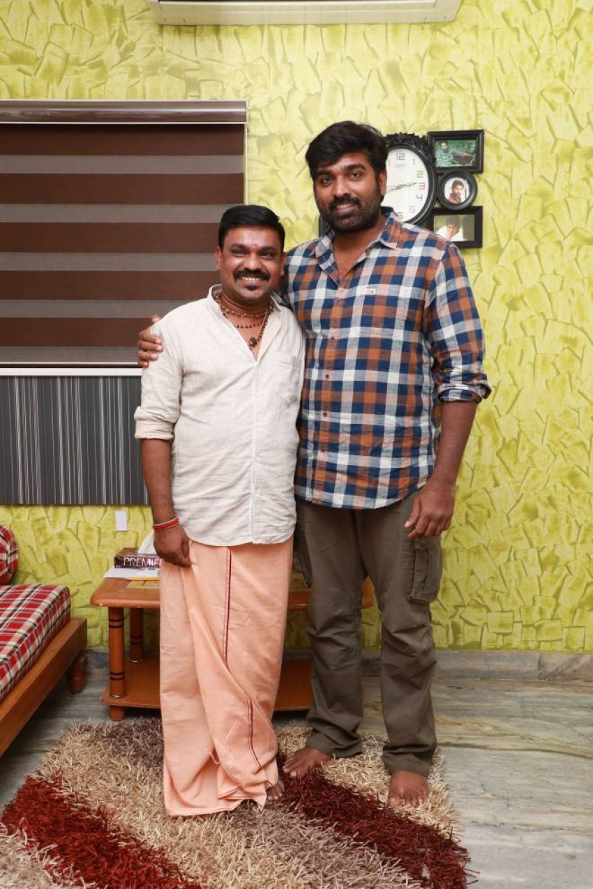 Vijay Sethupathy Launches Koothan Movie Promo Song Photos