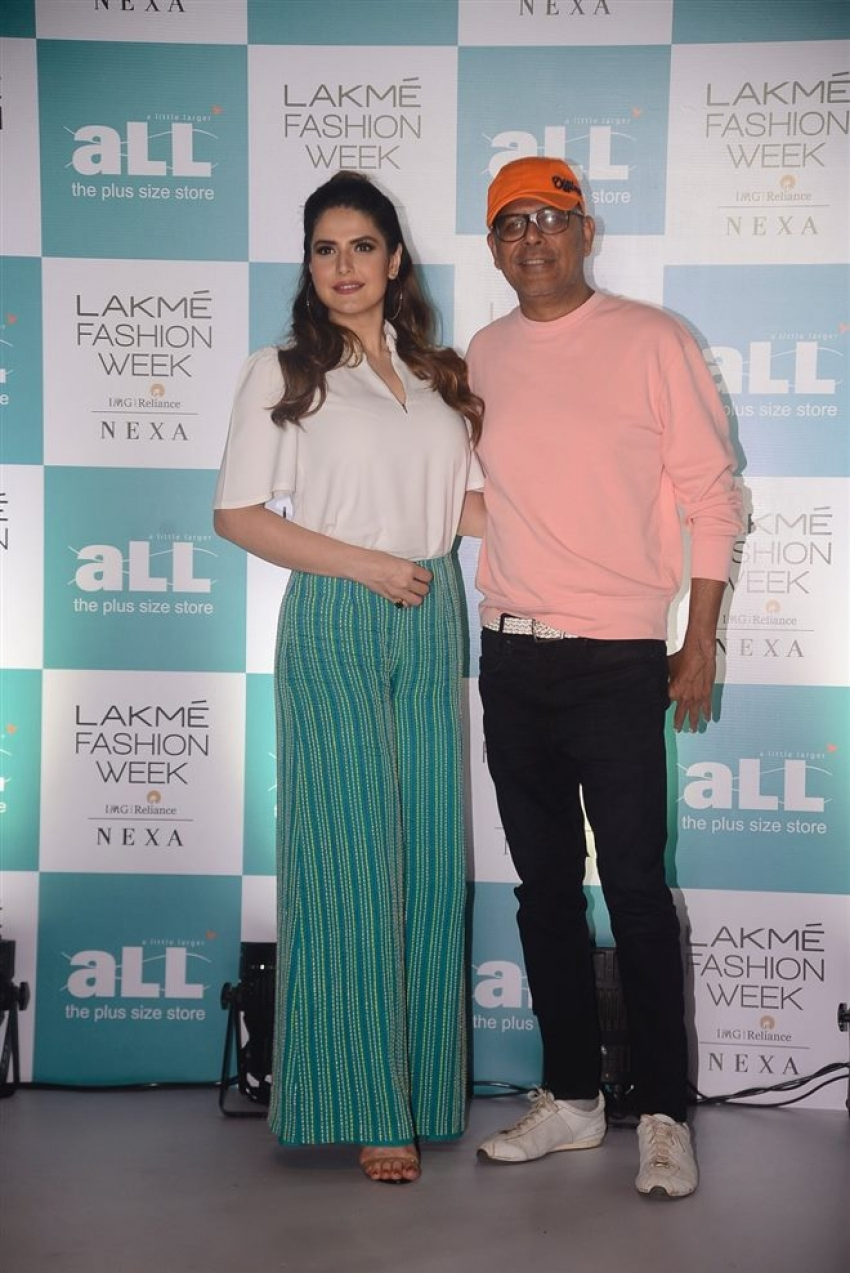Zareen Khan At LFW Plus Size Model auditions Photos