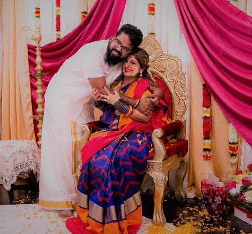 Actress Rambha Baby Shower Function Photos