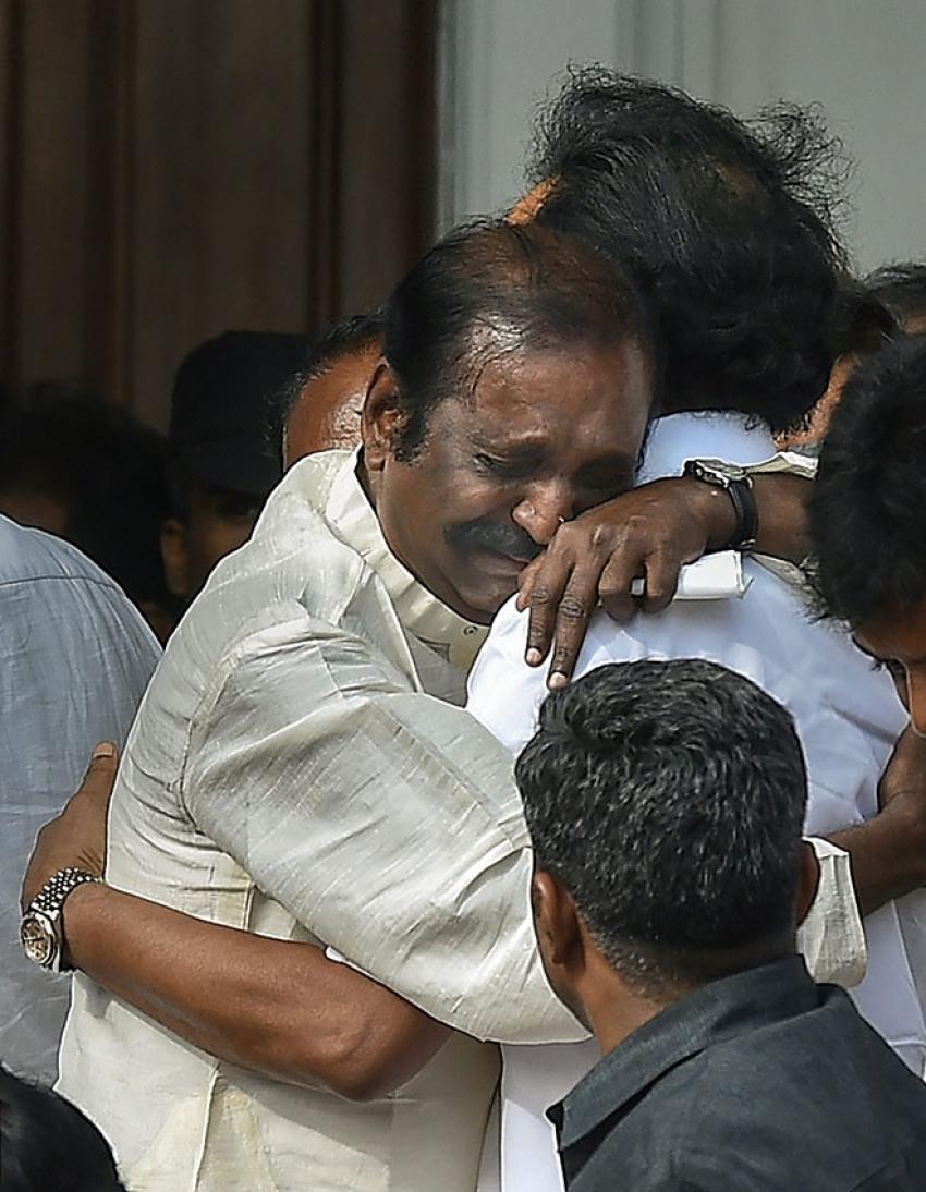 Celebs Pay Last Respect To M. Karunanidhi Photos