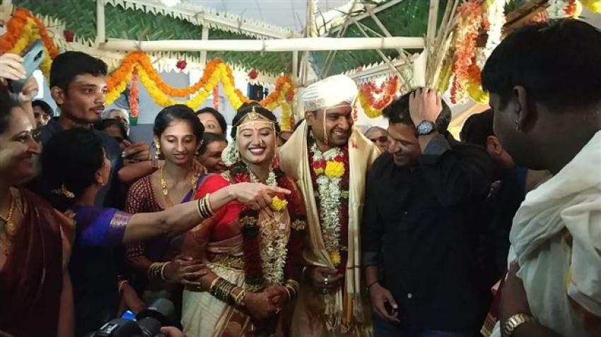 Director Pawan Wadeyar Wedding Photos