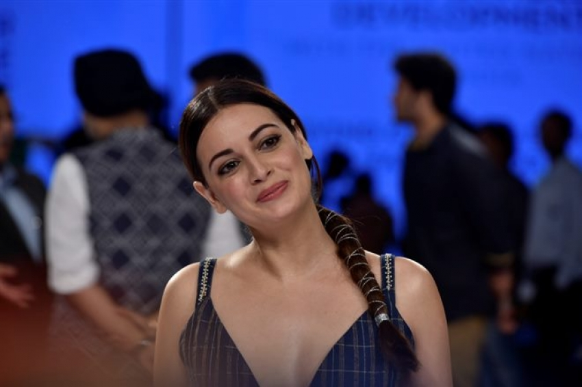 Dia Mirza and Anita Dongre attend the LFW Winter Festive in Mumbai Photos