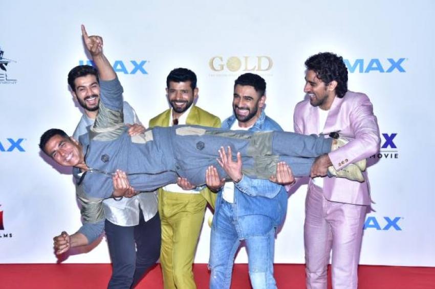 Gold Movie Trailer Launch Photos