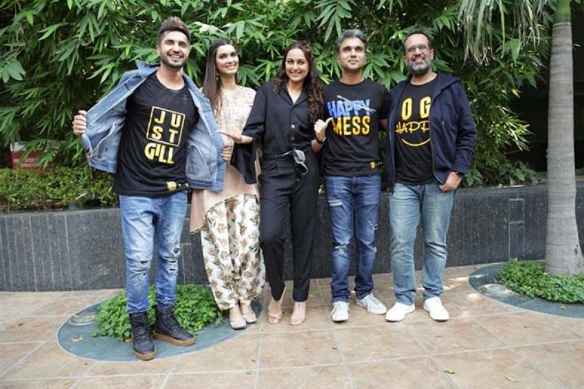 Happy Phir Bhag Jayegi Movie Promotion In New Delhi Photos
