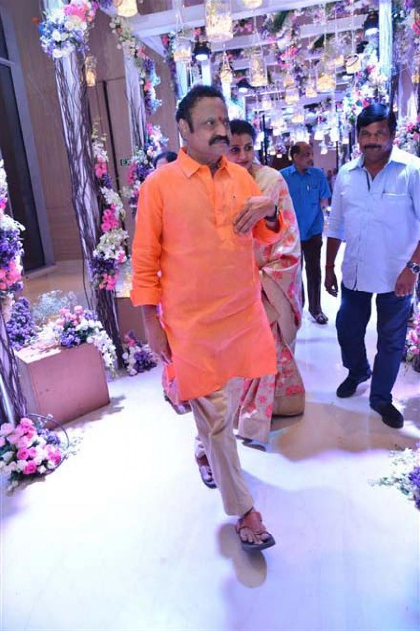 Hero Rajasekhar Sister's Son Engagement Photos
