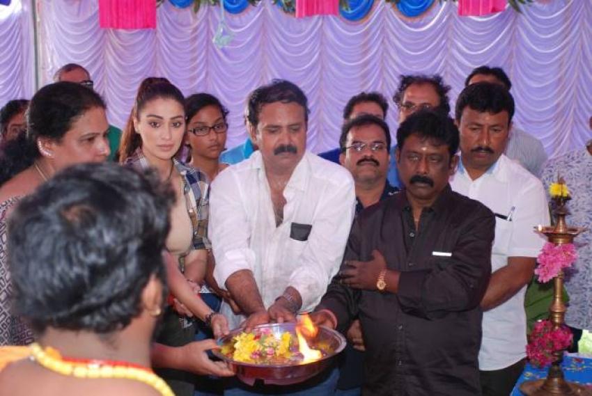 Jhansi Movie Pooja Photos