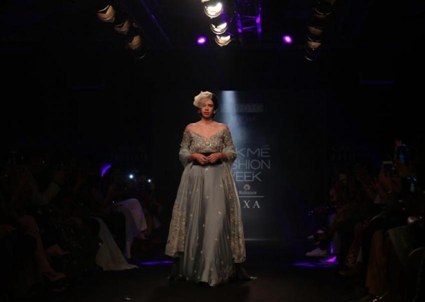 Kalki Koechlin walk the ramp at Lakme Fashion Week 2018 Photos
