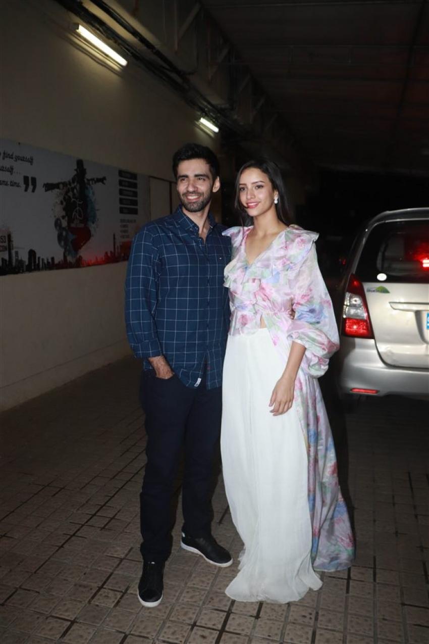 Laila Majnu Movie Special Screening Photos