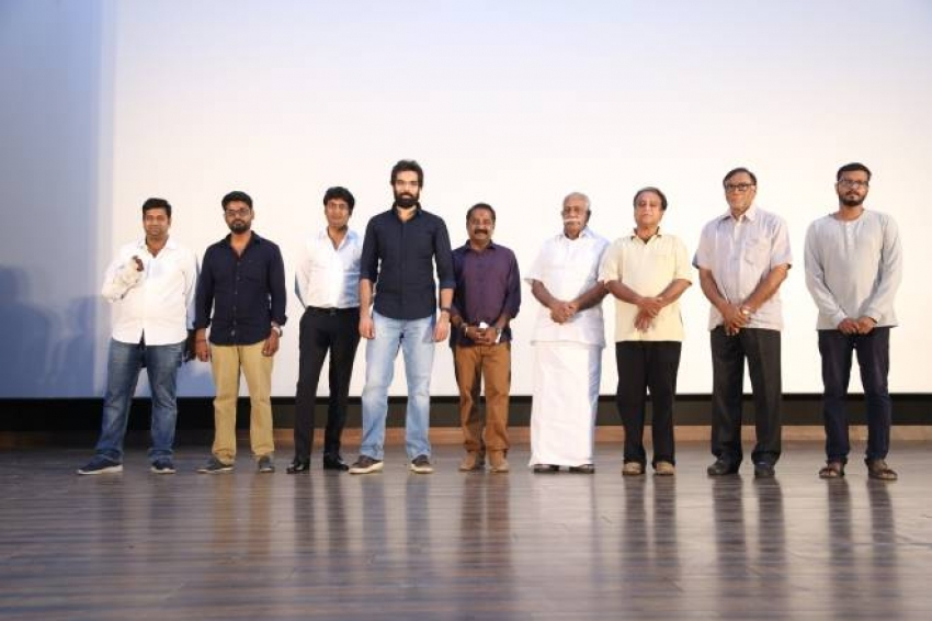 Maayon Movie Motion Poster Launch Photos