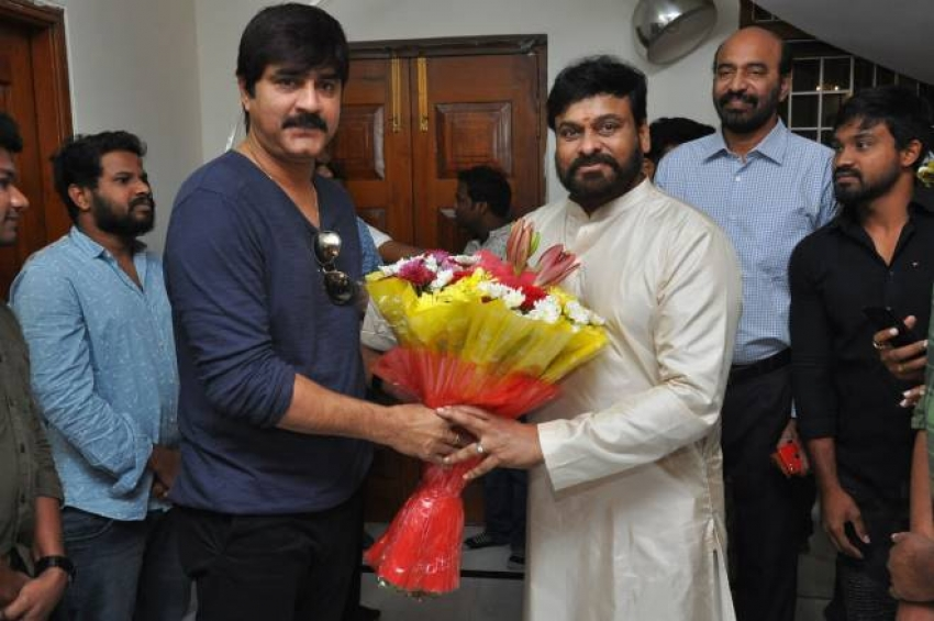 Movie Artists Aassociation Celebrates Chiranjeevi 63rd Birthday Photos