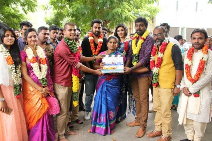 Naanseidha Kurumbu Movie Pooja And Press Meet Photos