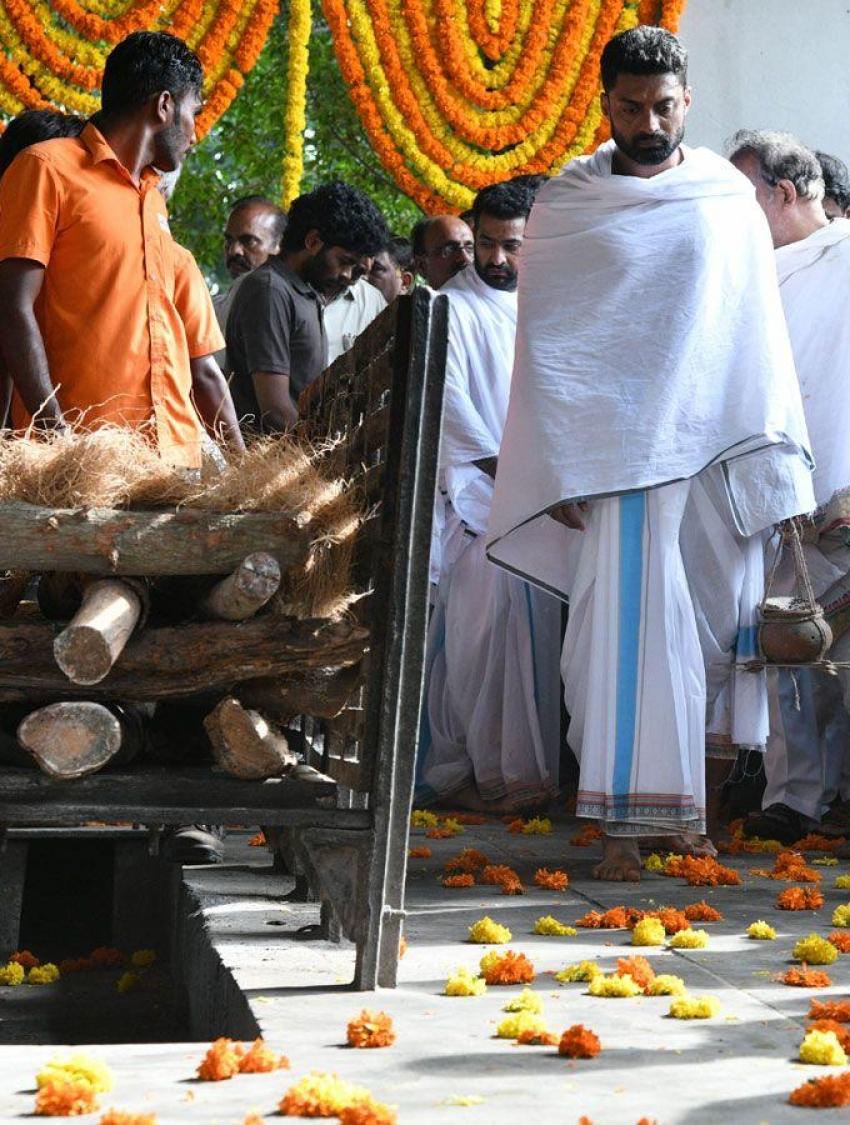 Nandamuri Harikrishna Anthima Yatra Photos