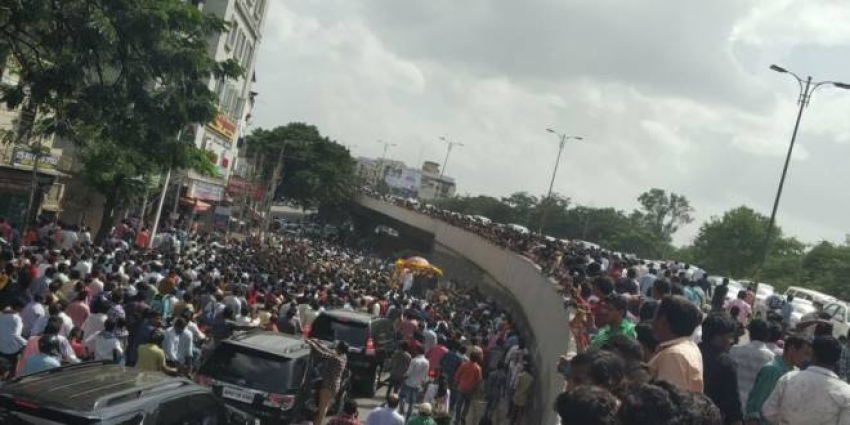 Nandamuri Harikrishna Last Journey Photos